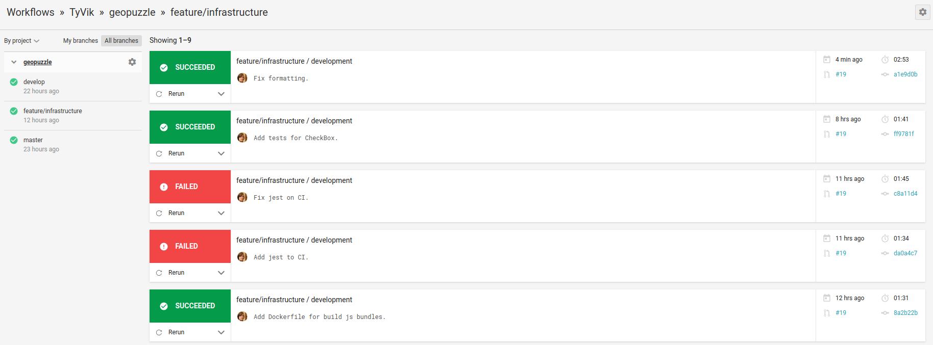 Подключение CI/CD к Django/React на примере CircleCI